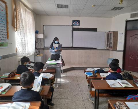 تدریس درس اول هدیه ها کلاس خانم طاهری